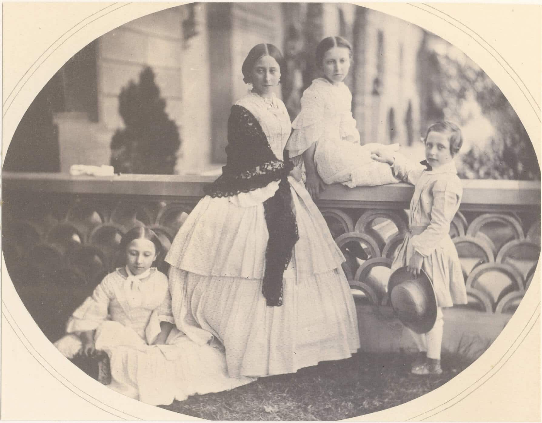 Several of Queen Victoria's grandchildren.