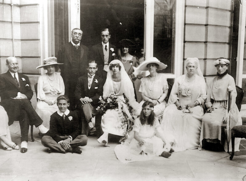 The wedding of William Leeds with Princess Xenia of Russia