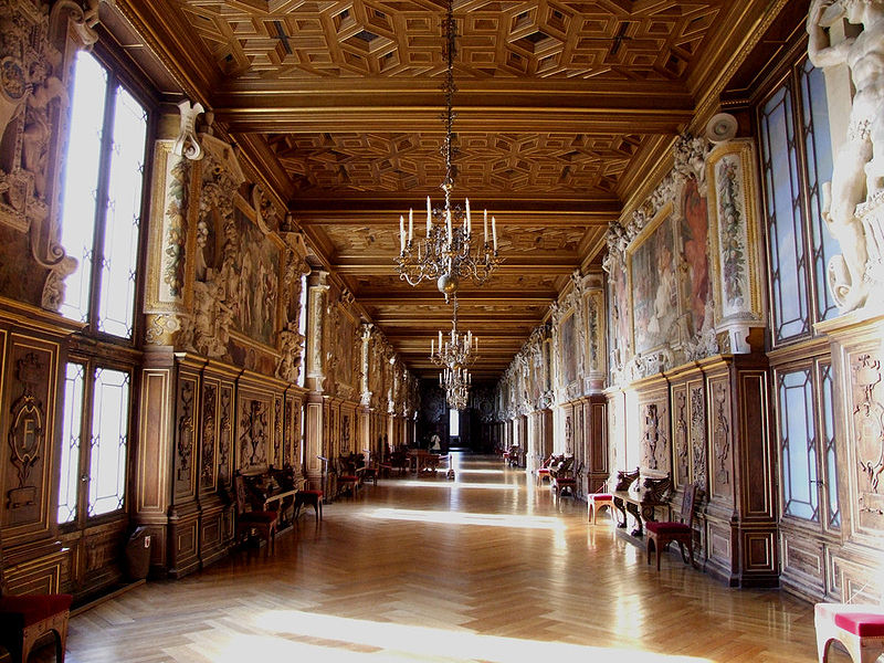 Fontainebleau_interior_francois_ gallery_ La Palatine_ France