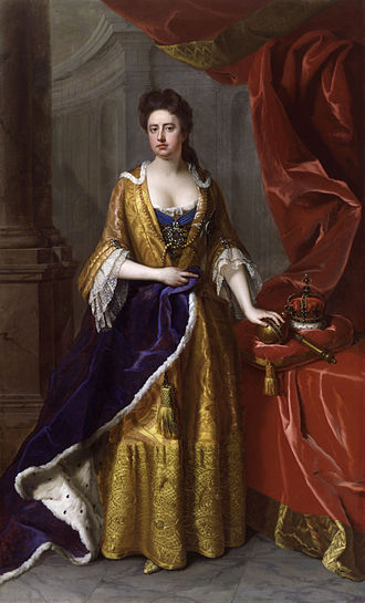 Queen Anne1705, portrait bu Mickael Dahl_ England queen_ ENgland War_ Anne & Sarah_ Michael of greece chronicles_